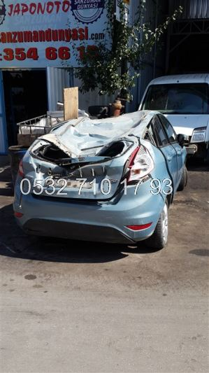 Ford Fiesta 2010 Arka Tampon